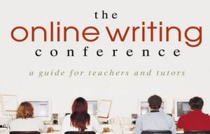 A Screen capture of the cover of The Online Writing Conference book