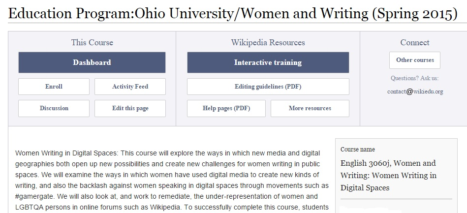 Wikipedia Gender Project