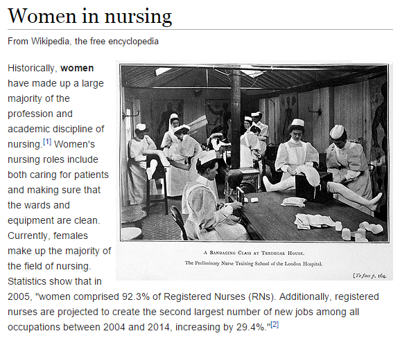 Women in Nursing