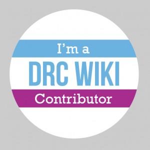 DRC Wiki Badge