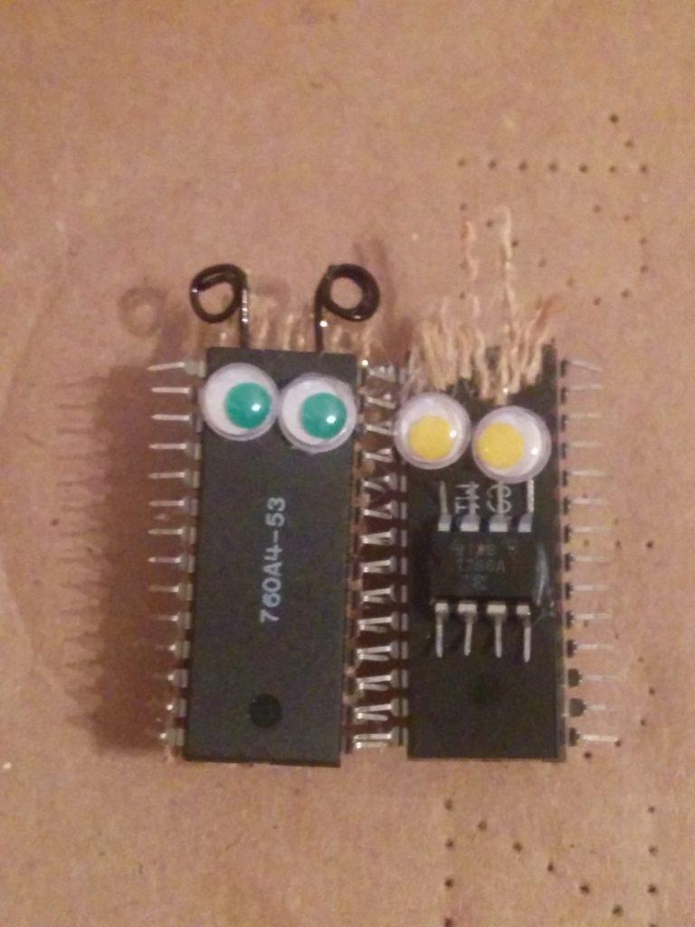 Computer Bug Pins