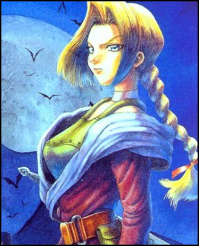 Concept art for Sonia Belmont, the original founder of the Belmont Clan in the Castlevania mythos.