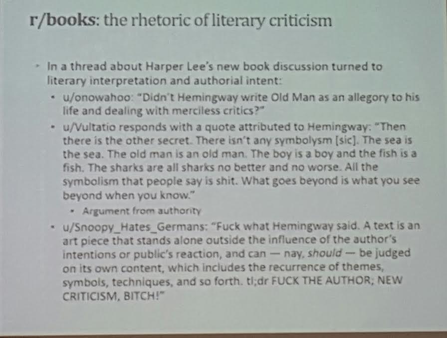 Lemony snicket literary analysis