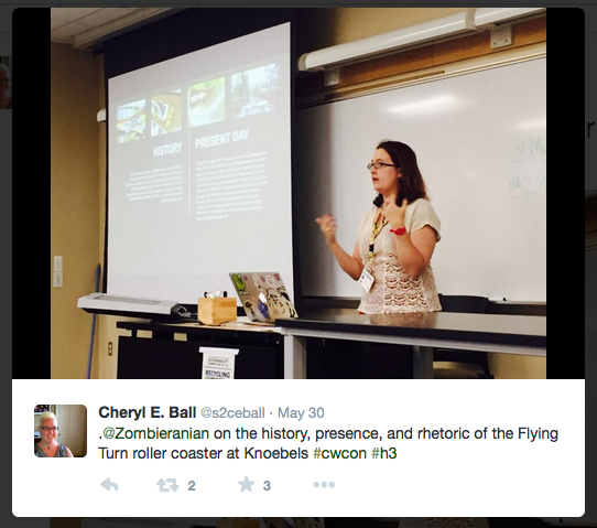 Twitter image of Jill Morris by Cheryl Ball
