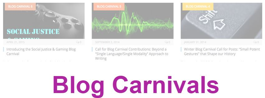Blog Carnivals for 2014-15