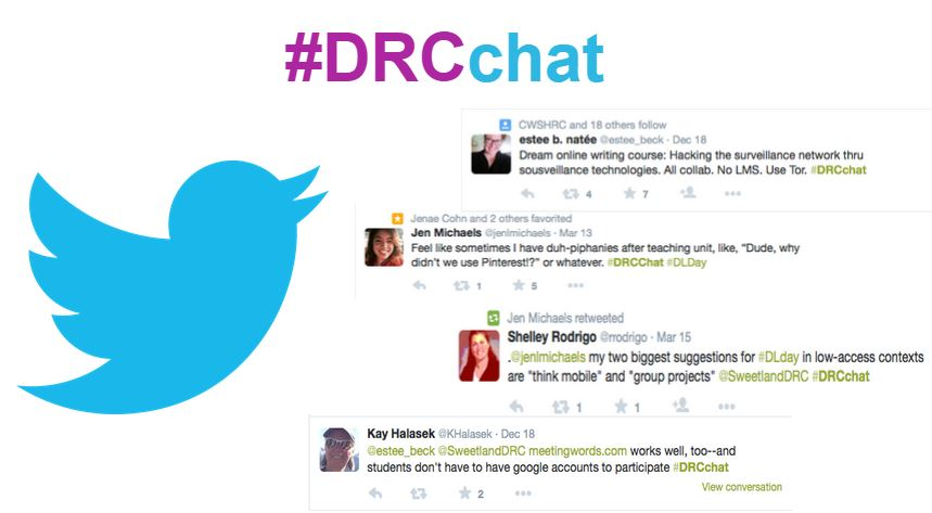 #DRCchats on Twitter