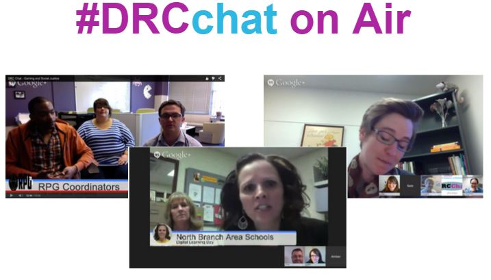 Screen Capture of Some DRCchat on Air events