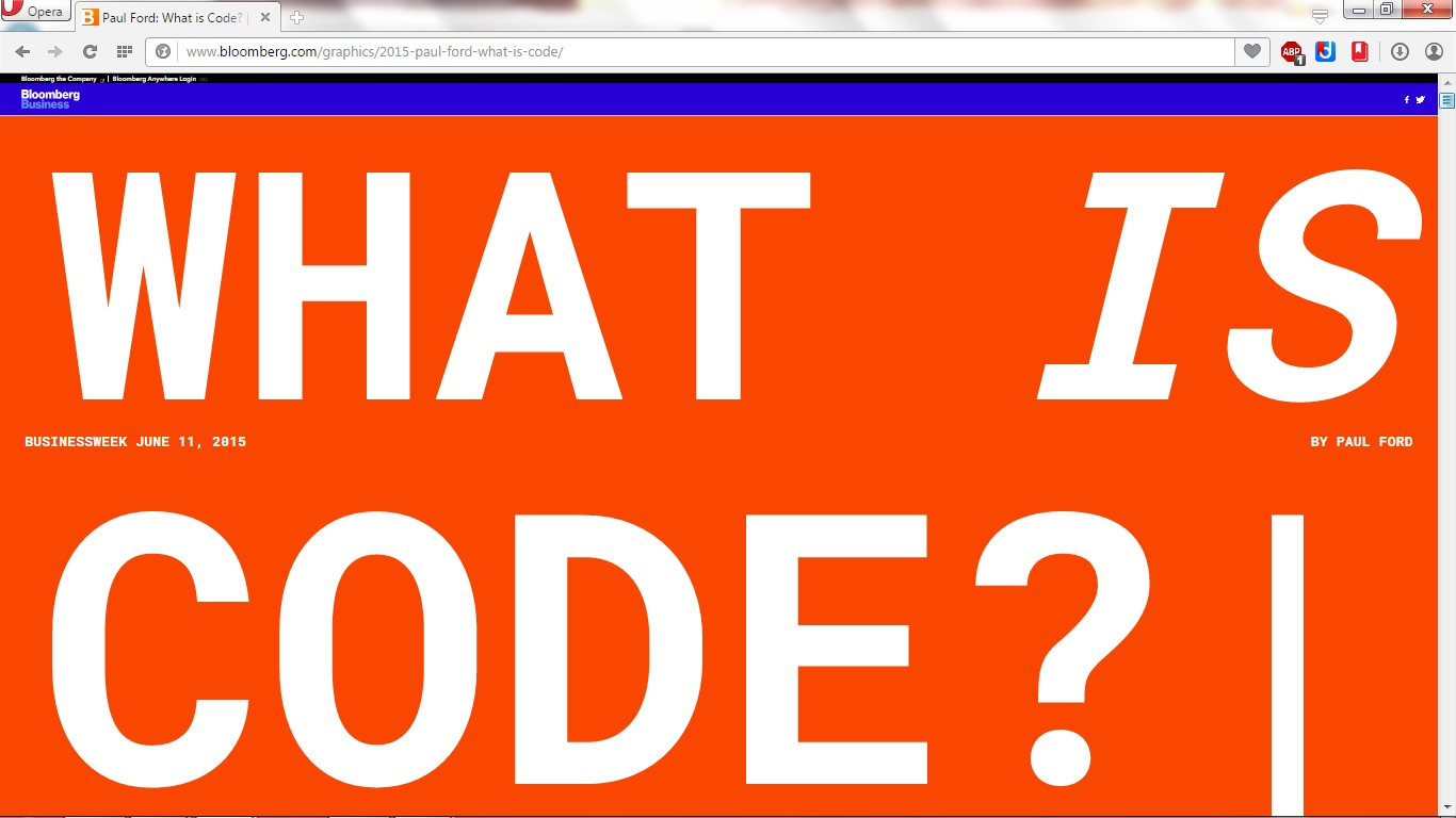 What is code? 50