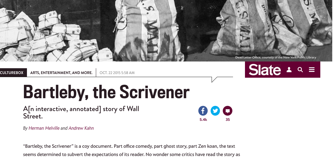 """the historical allusions in the novel bartleby the scrivener by herman melville Barlteby the scrivner: essay q&a as melville sees it, are complex, and so he creates in """"bartleby, the scrivener"""" a philosophical dialogue melville herman."""