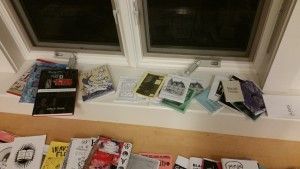 Adela Licona's Zines in Third Space and Alison Piepmeier's Girl Zines, left