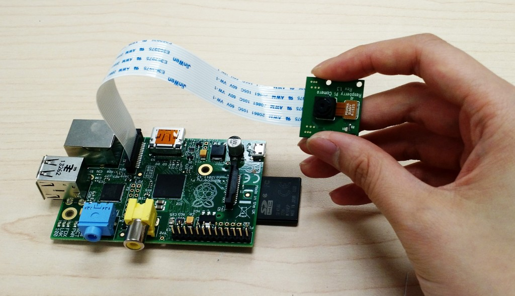 Figure 7: Raspberry Pi build for an optophone, by Tiffany Chan