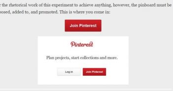 Screenshot of Vetter inviting readers to participate.