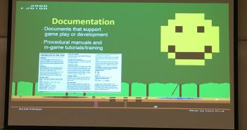 Purzycki slide: Documentation (in game experience archiving)