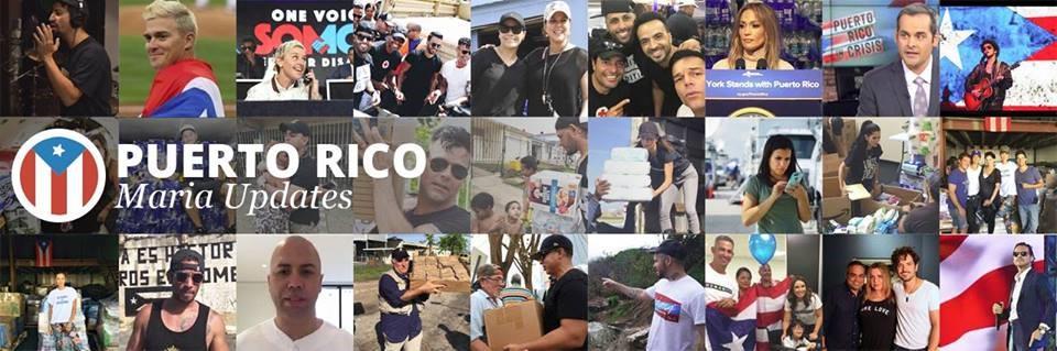 Puerto Rico Maria Updates Banner