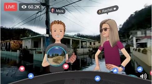 Mark Zuckerberg PR Virtual Tour