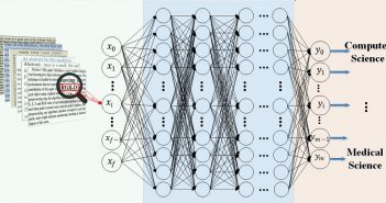 A diagram of neurons in a deep learning system