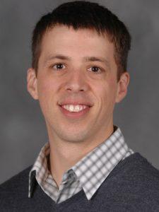 Head shot of Derek Van Ittersum from the Kent State University website.