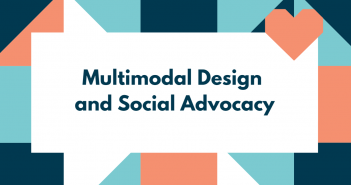 Banner image for Blog Carnival on multimodal design and social advocacy