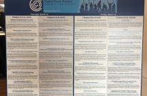 A poster of the DPP sessions time and presentation title.