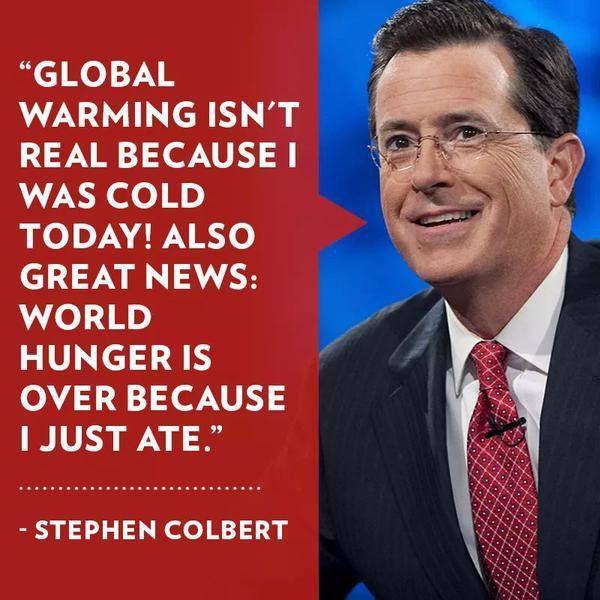 Global warming isn't real meme