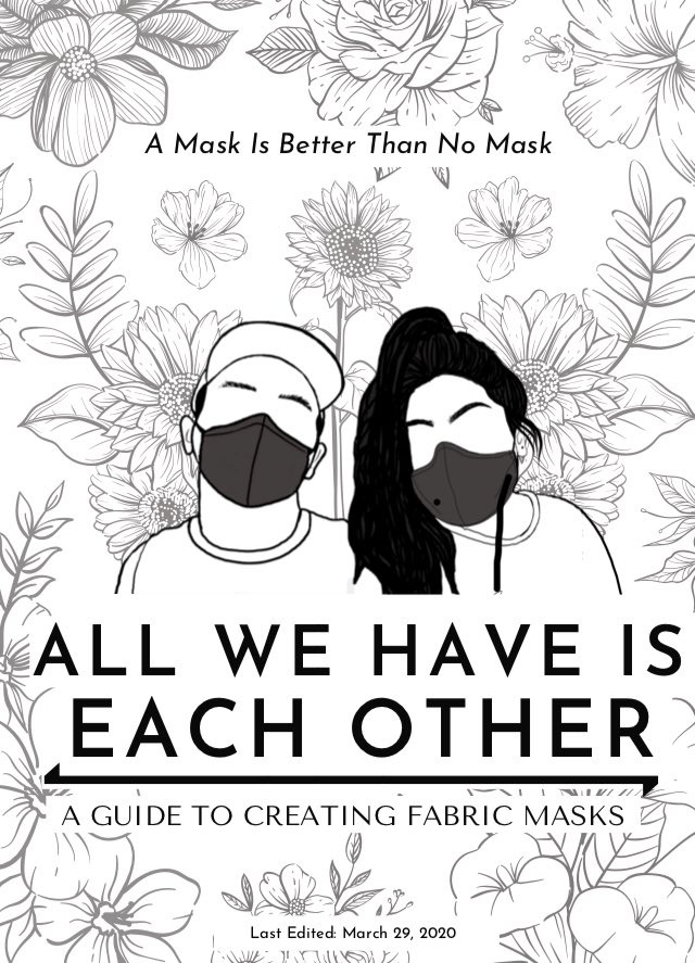 Cover of Yessi and N's All We Have Is Each Other. Image from the Barnard Zine Library.